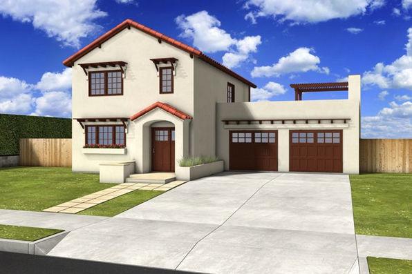 Modelos de casas dise os de casas y fachadas modelos de for Fachadas de casas rusticas sencillas