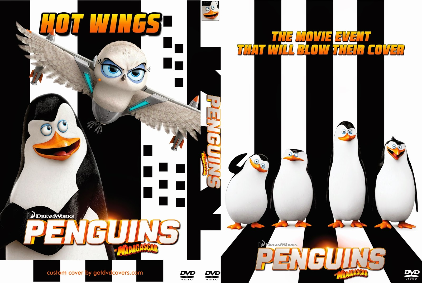 Download Os Pinguins de Madagascar BDRip XviD Dual Áudio Penguins 2Bof 2BMadagascar 2B 2014  2B  2BCover 2BDVD 2BMovie