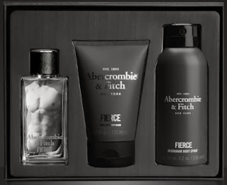 Abercrombie & Fitch Fierce Eau de Cologne Christmas Gift Set for Men