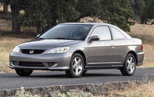 Honda Civic Americano vira uma dos carro populares