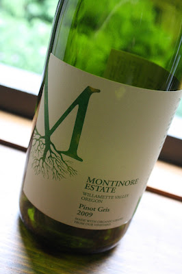 Oregon, Montinore Estate, Pinot Gris, White Wine
