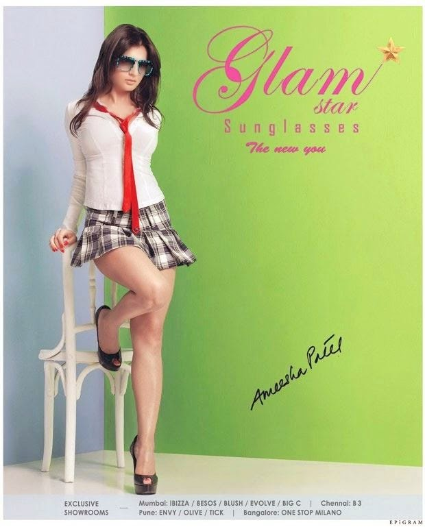Amisha Patel Hot Photoshoot For Glam Photos