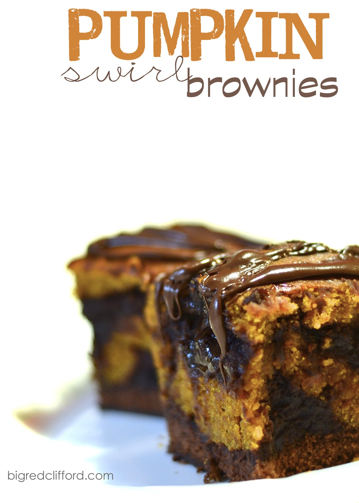 naughty pumpkin swirl brownies | Color Me Meg
