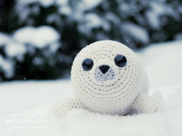 Amigurumi Sammy The Seal : Smartapple Creations - amigurumi and crochet