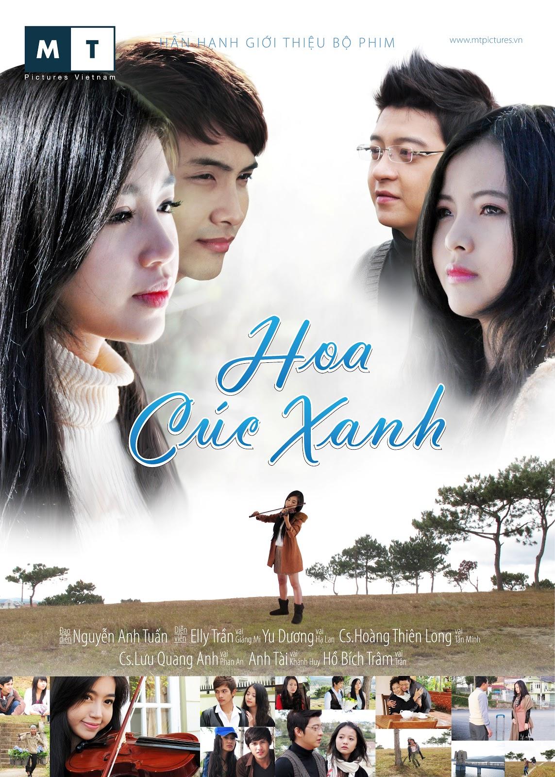 Hoa Cúc Xanh HTV7
