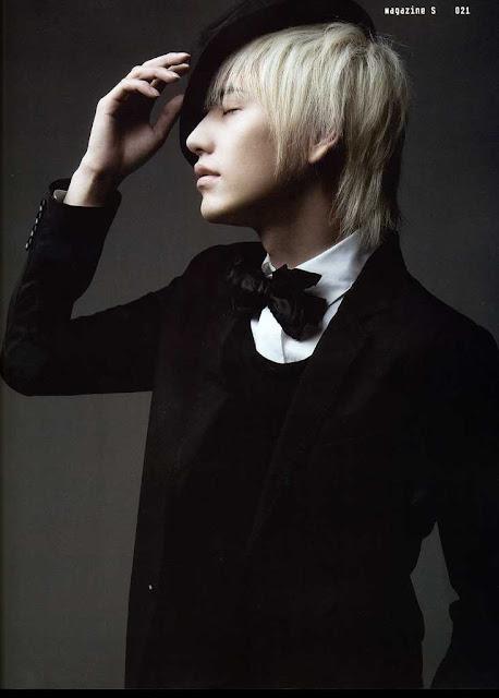 Kyuhyun 2007 Don't Don Comeback S Magazine kyuhyun blonde