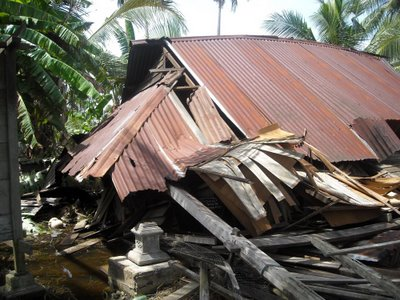 Ribut bagai tsunami melanda