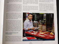 Majalah Deperindag edisi sept 2012 ( hjkarpet memproduksi karpet handmade kwalitas Internasional )