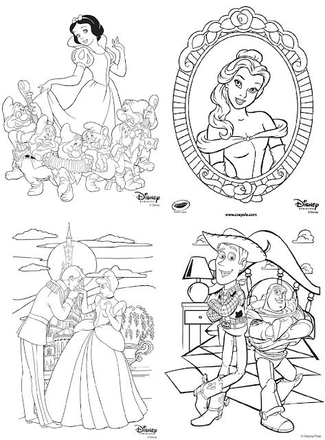Disney Channel Coloring Pages