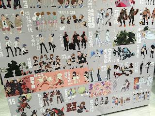 Kill la Kill Character Design Board Wall Bottom