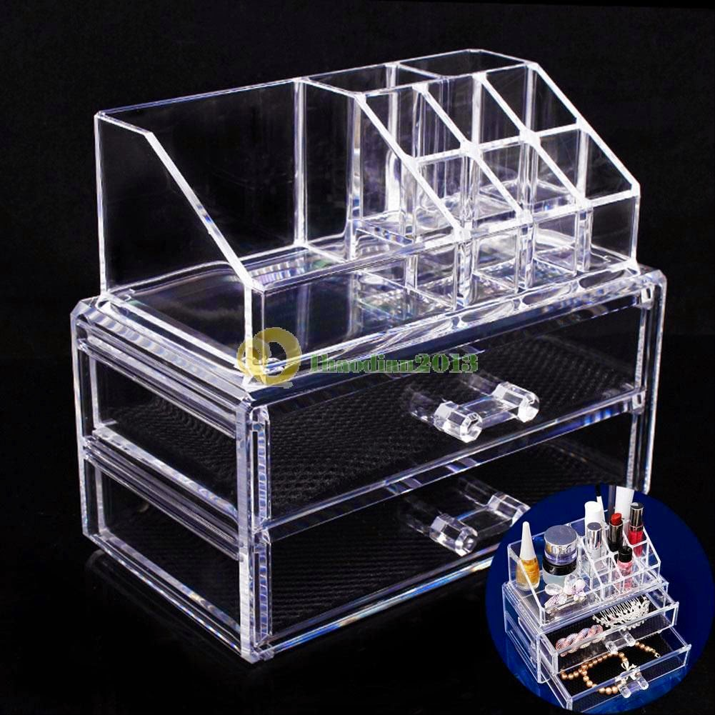 http://www.ebay.com/itm/A1ST-NEW-Acrylic-Cosmetic-Organizer-Drawer-Makeup-Case-Storage-Insert-Holder-Box-/321584843314?pt=US_Makeup_Bags_Cases&hash=item4adff34a32