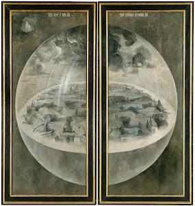 tríptico de la creación del mundo-El Bosco