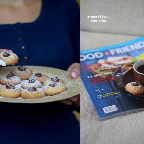 Maślane ciasteczka z orzechami laskowymi i Food & Friends