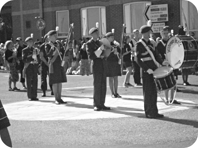 marching band, Ramsgate carnival,