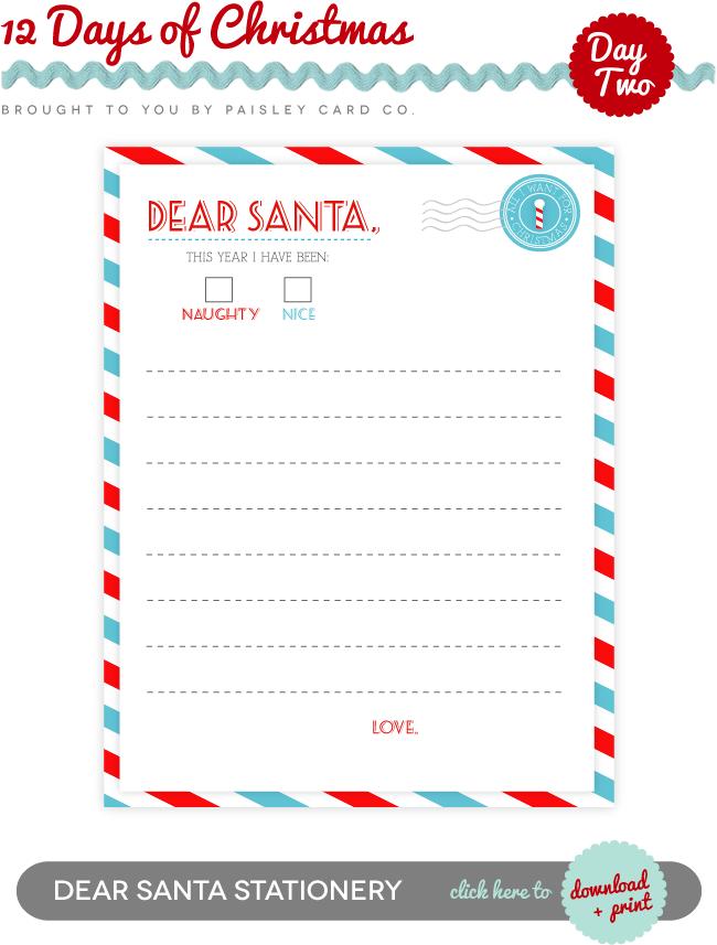 dear santa essay