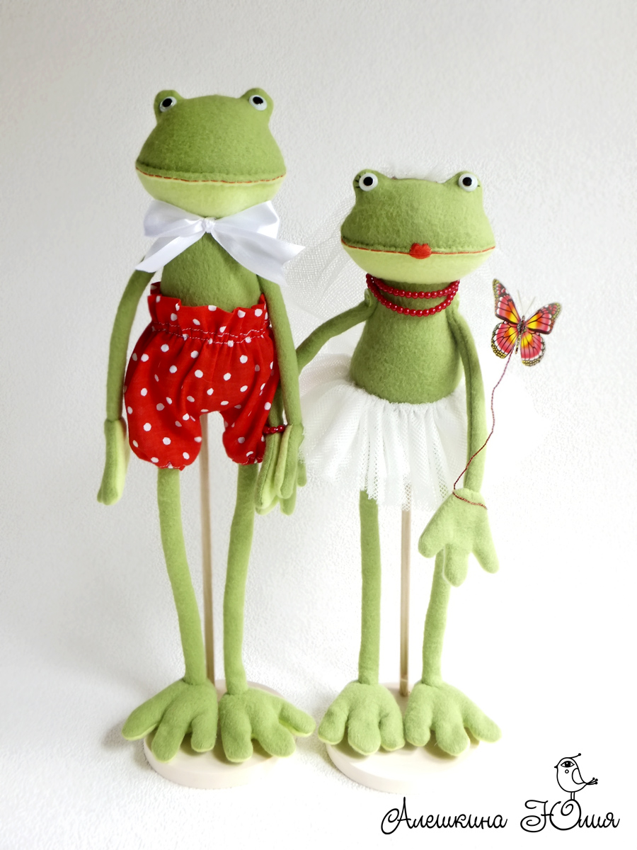 Игрушки своими руками лягушки фото