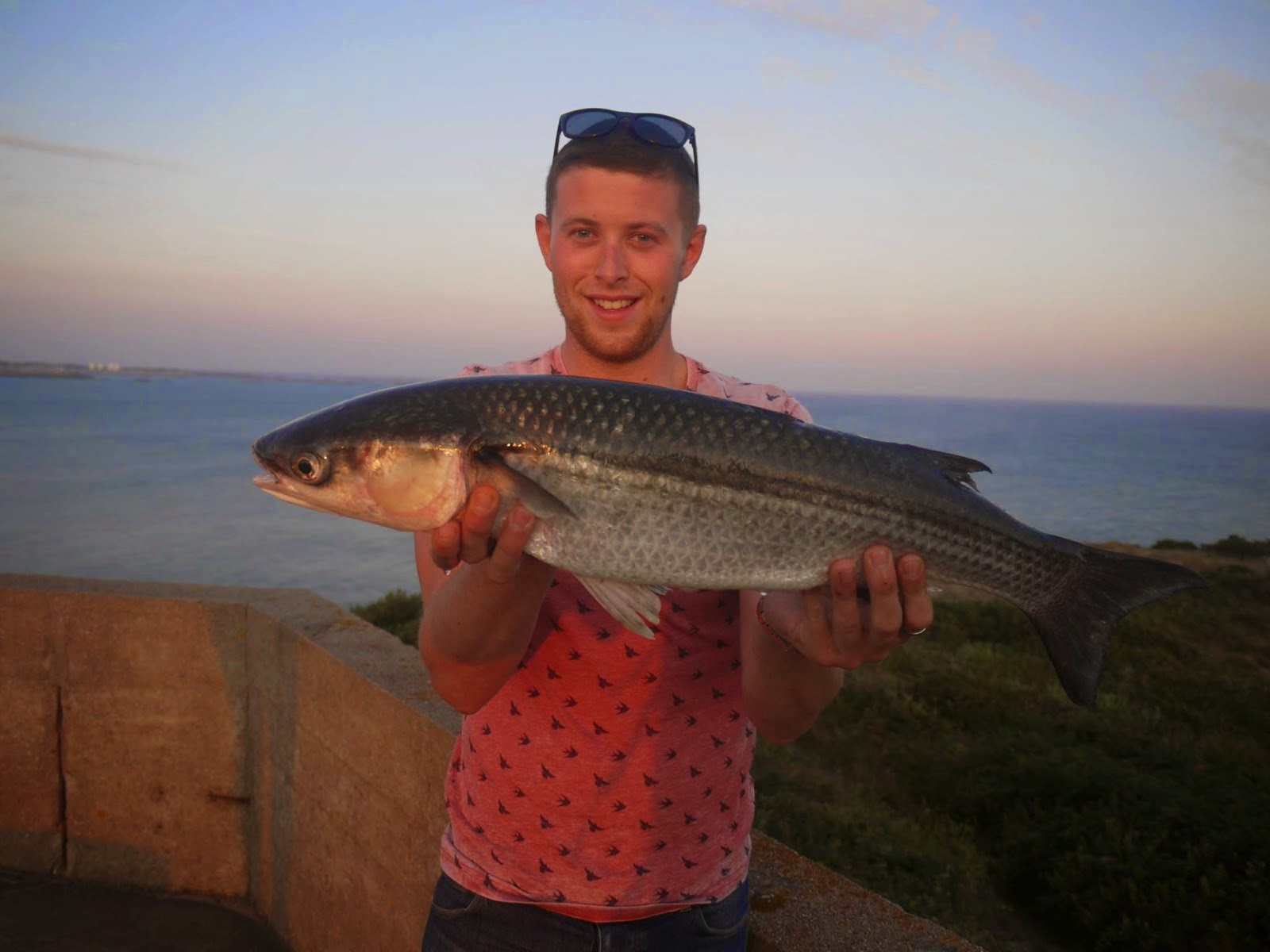 6lb 6oz Thin Lipped Mullet - Channel Island Record!