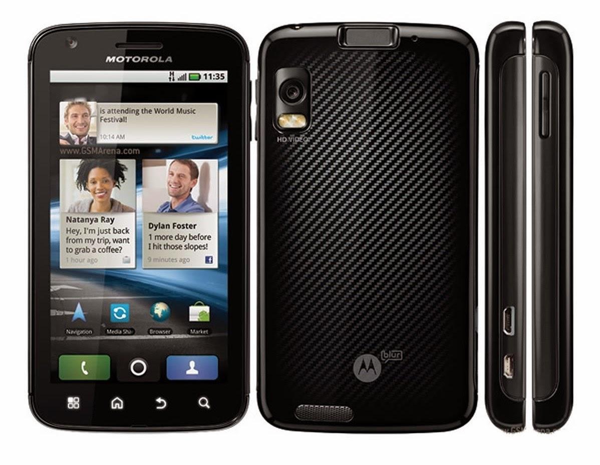 Мобильный телефон Motorola Atrix MB860 Black с поддержкой нескольких видов док-станций и модульной концепцией