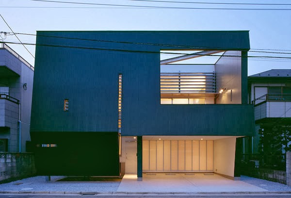 Minimalis 2014 Modern: Rumah Minimalis 2014 Warna Kombinasi Hitam