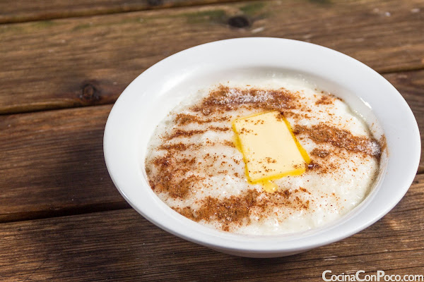 Recetas Navidad - Receta Noruega de arroz con leche caliente - Risgrot o Risgrøt