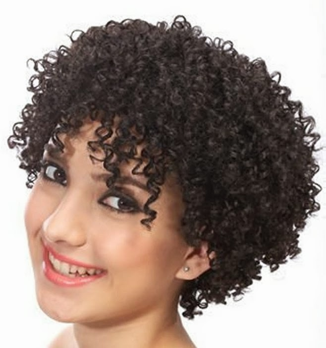 curly short hairstyles for cute black women curly short hairstyles for ...