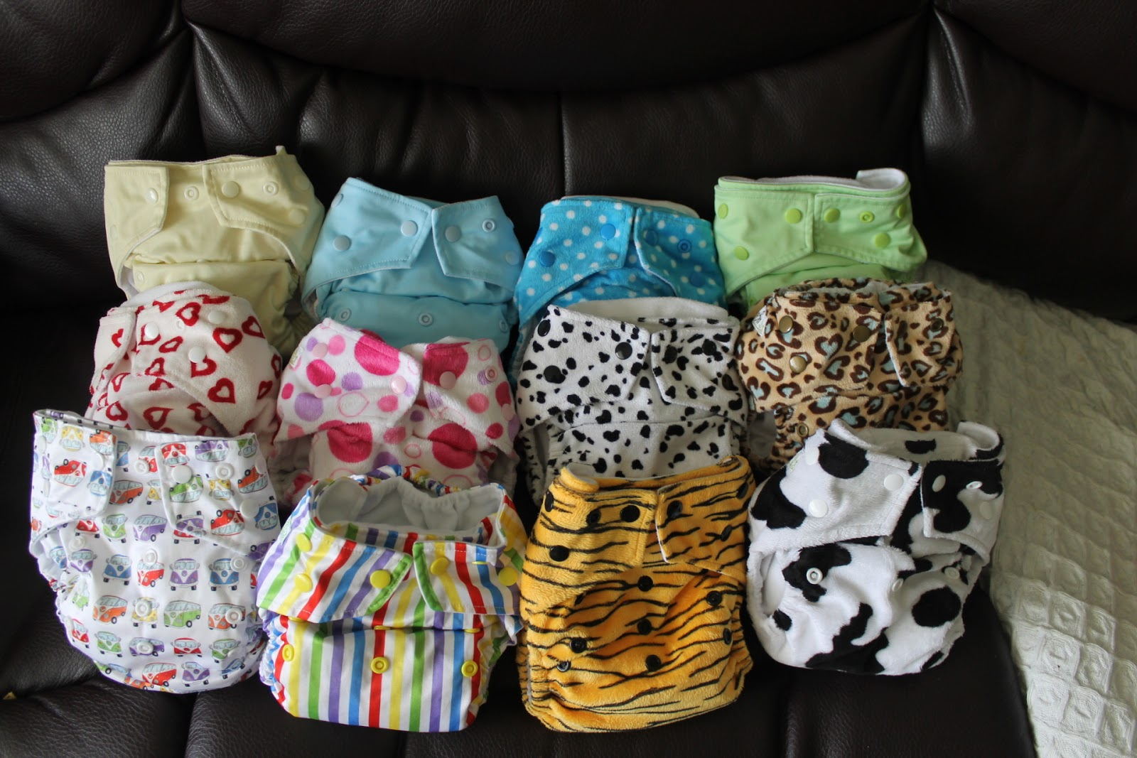 Baba and Boo Cloth Nappies