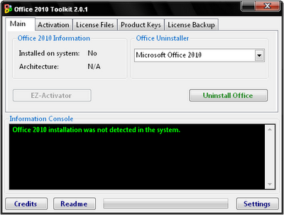 Free Download Office 2010 Toolkit 2.0.1