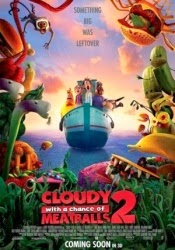 Cloudy With A Chance Of Meatballs 2 2013 di Bioskop