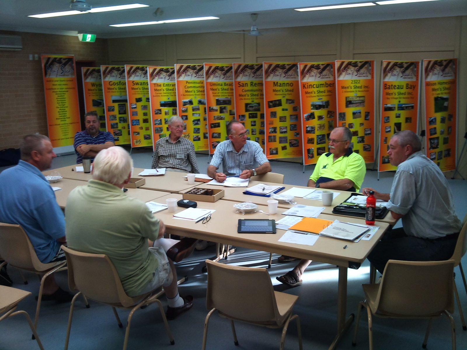 Men's Sheds - Central Coast: May 2012