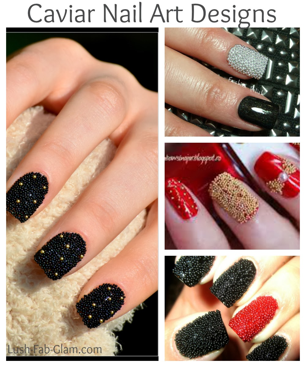Lush Fab Glam Blogazine Gorgeous Holiday Nail Art Designs Win A