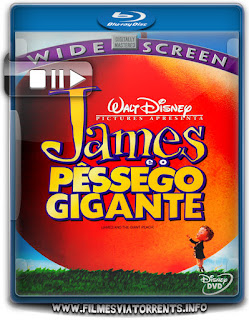 James e o Pêssego Gigante Torrent - BluRay Rip 720p Dublado