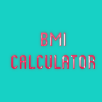 "My new App  ""BMI CALCULATOR"""