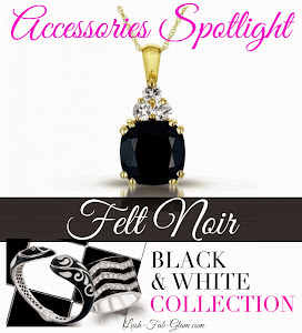 Some things are too stunning to pass up! Felt Noir's Black & White Collection is one of them!