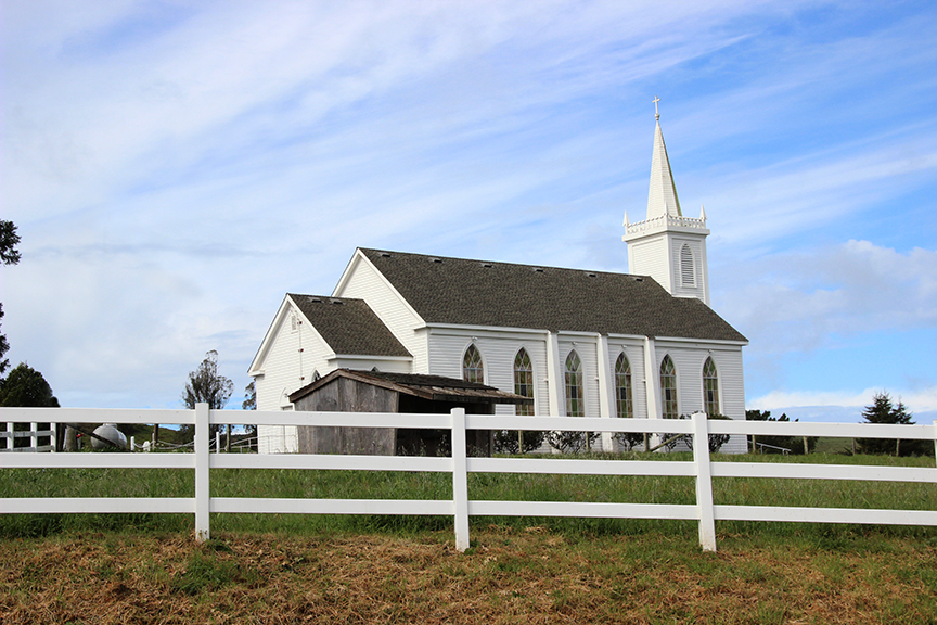 Bodega Bay Catholic church