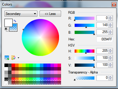 How To Change A Color Of A Portion In Paint Net