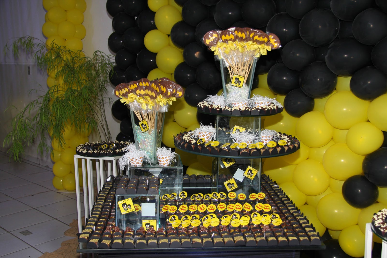 decoracao festa batman : decoracao festa batman:Batman Party Decoration Ideas