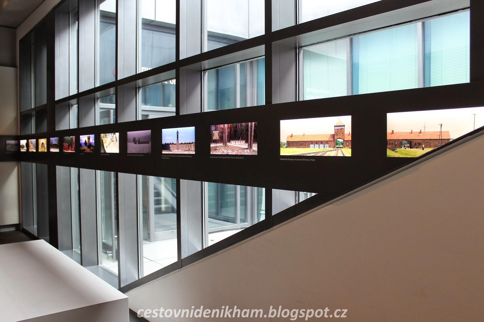 informační centrum k památníku // information center of holocaust mahnmal