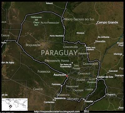 Vista aérea de PARAGUAY, BING