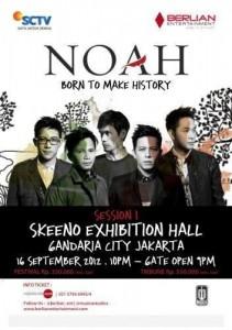 Konser Terbaru Noah di Jakarta