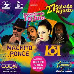 Machito Ponce & Loft - sab 27/08