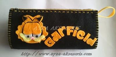 Tempat Pensil Garfield - Ayza Aksesoris