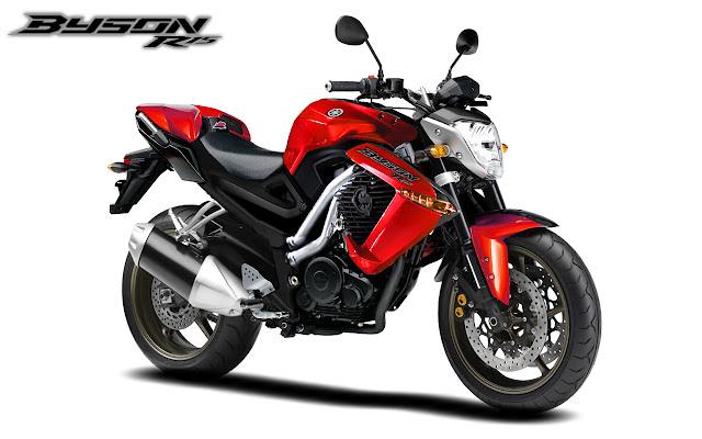 YAMAHA BYSON RED