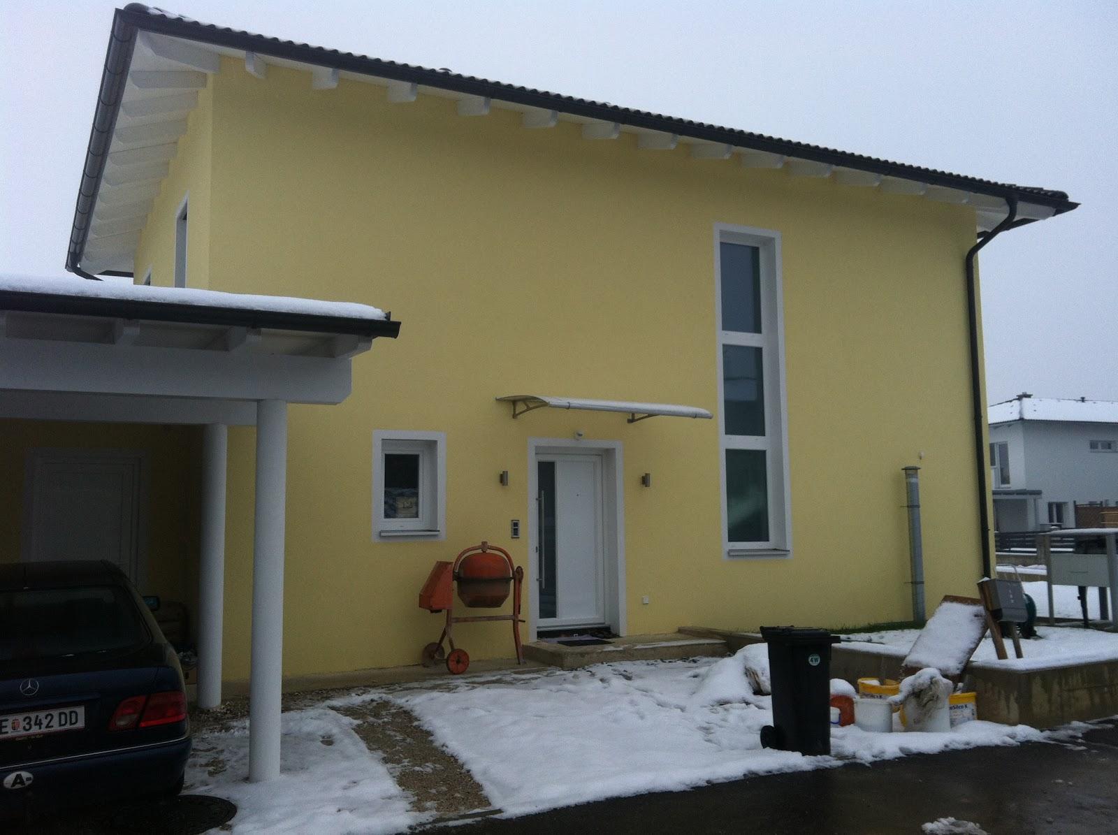 armin sarah bauen ein haus haus im schnee. Black Bedroom Furniture Sets. Home Design Ideas