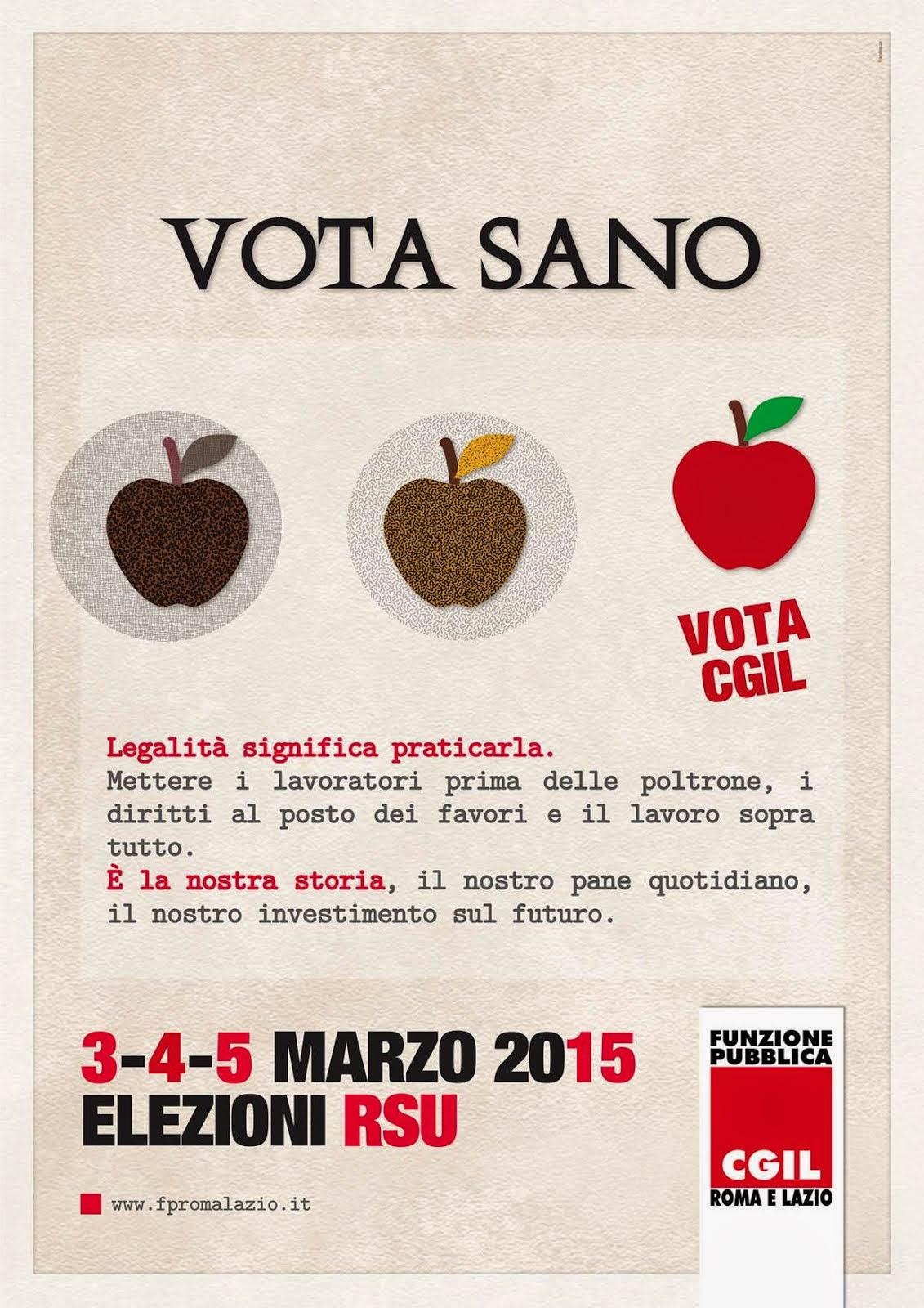 3-4-5-MARZO 2015 ELEZIONI RSU