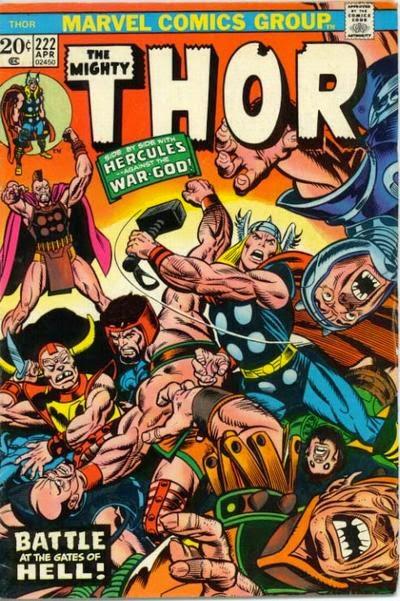 Thor #222, Hercules