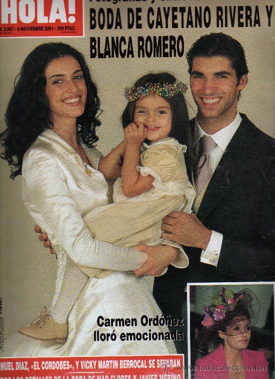 So ar es gratis eva gonz lez y cayetano rivera se casan for Blanca romero y cayetano rivera
