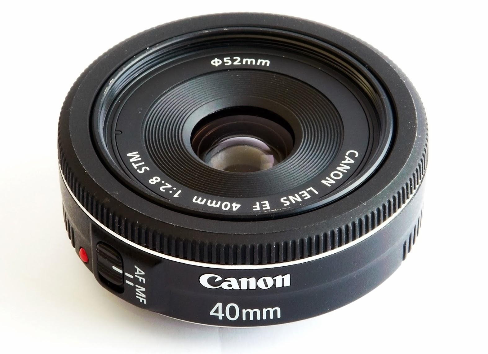 Harga Spesifikasi Lensa Canon EF 40mm f/2.8 STM Terbaru