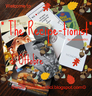 Le vostre ricette di Ottobre