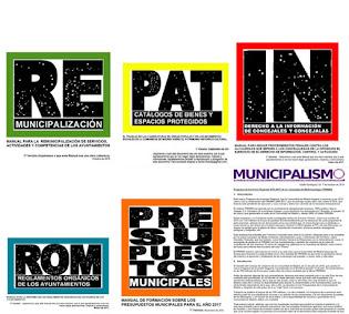 Pinchando en la imagen puedes descargarte numerosos manuales municipalistas