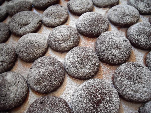 rehlein backt: Weihnachtsbäckerei: Chai-Latte-Cookies